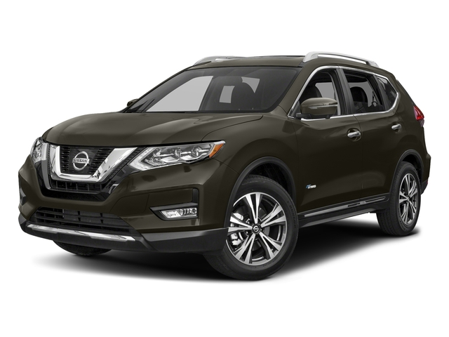 Midnight Jade 2017 Nissan Rogue Pictures Rogue Utility 4D SL 2WD I4 Hybrid photos front view