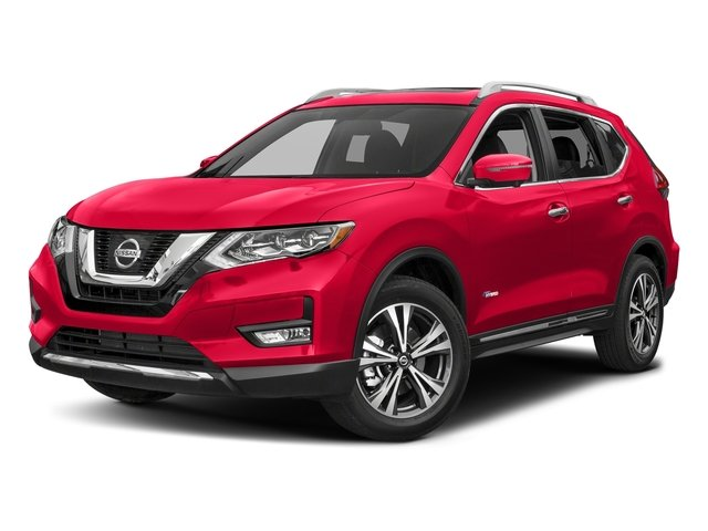 Palatial Ruby 2017 Nissan Rogue Pictures Rogue Utility 4D SL 2WD I4 Hybrid photos front view