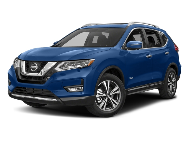 Caspian Blue 2017 Nissan Rogue Pictures Rogue Utility 4D SL 2WD I4 Hybrid photos front view
