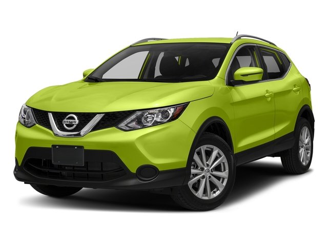 Nitro Lime 2017 Nissan Rogue Sport Pictures Rogue Sport Utility 4D S AWD photos front view