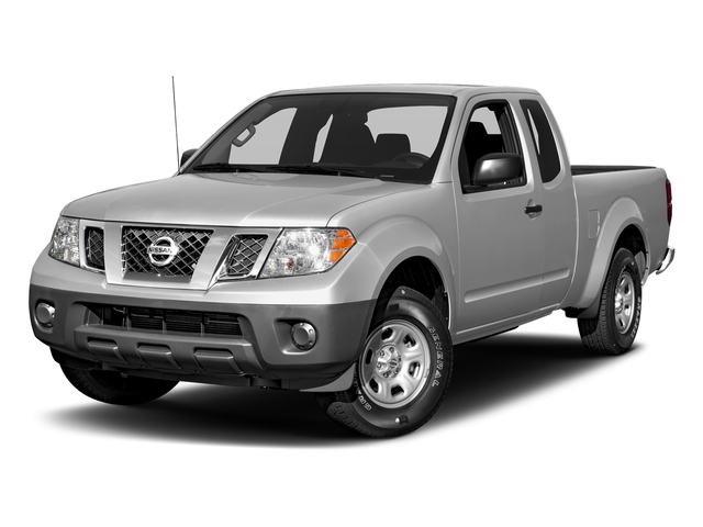 Brilliant Silver 2017 Nissan Frontier Pictures Frontier King Cab S 2WD photos front view