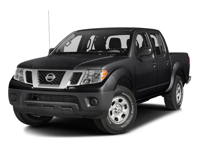 Magnetic Black 2017 Nissan Frontier Pictures Frontier Crew Cab S 4WD photos front view