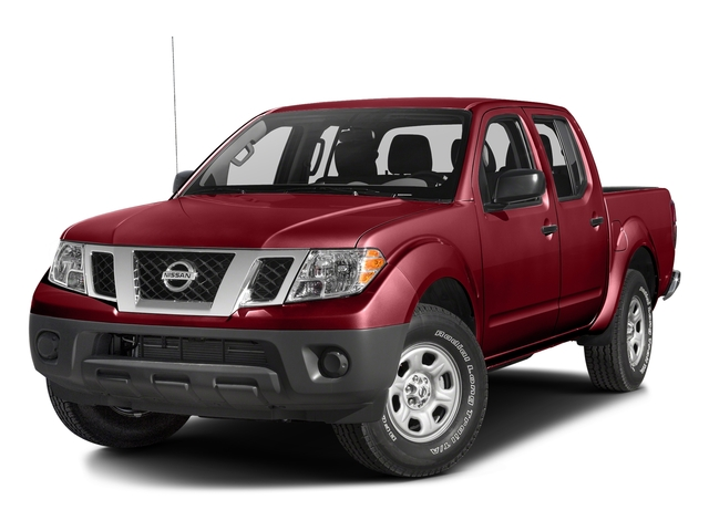Cayenne Red 2017 Nissan Frontier Pictures Frontier Crew Cab S 4WD photos front view