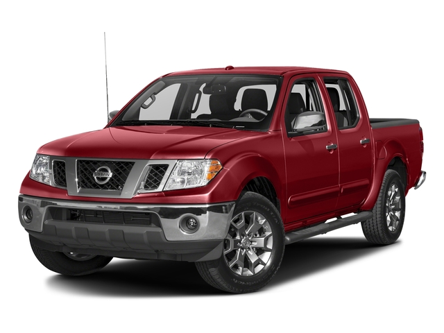 Lava Red 2017 Nissan Frontier Pictures Frontier 2017.5 Crew Cab 4x4 SL Auto photos front view