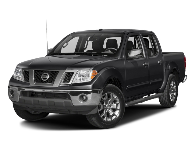 Magnetic Black 2017 Nissan Frontier Pictures Frontier 2017.5 Crew Cab 4x4 SL Auto photos front view