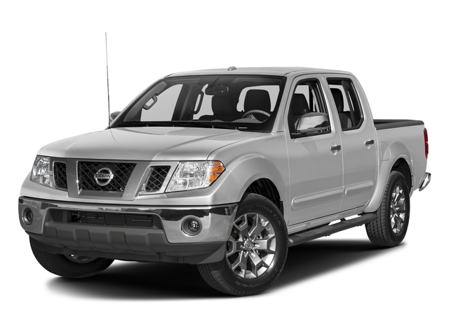 Brilliant Silver 2017 Nissan Frontier Pictures Frontier 2017.5 Crew Cab 4x4 SL Auto photos front view