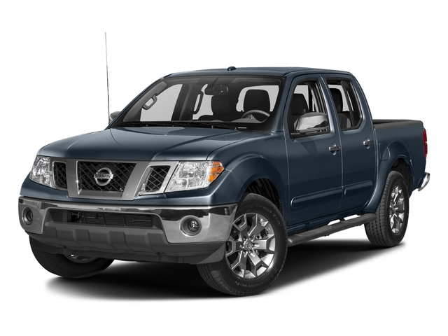 Arctic Blue Metallic 2017 Nissan Frontier Pictures Frontier 2017.5 Crew Cab 4x4 SL Auto photos front view