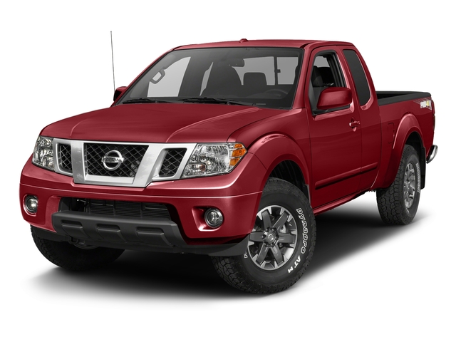 Lava Red 2017 Nissan Frontier Pictures Frontier King Cab 4x4 PRO-4X Auto photos front view