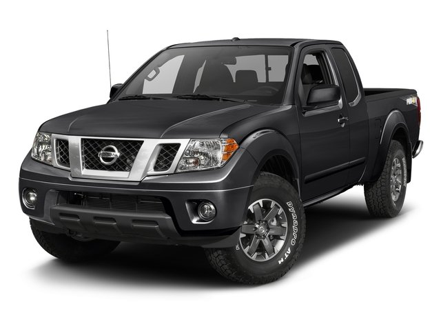 Magnetic Black 2017 Nissan Frontier Pictures Frontier King Cab 4x4 PRO-4X Auto photos front view