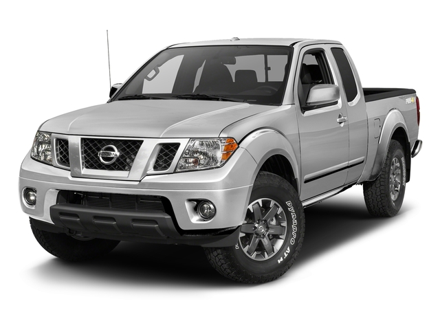 Brilliant Silver 2017 Nissan Frontier Pictures Frontier King Cab 4x4 PRO-4X Auto photos front view