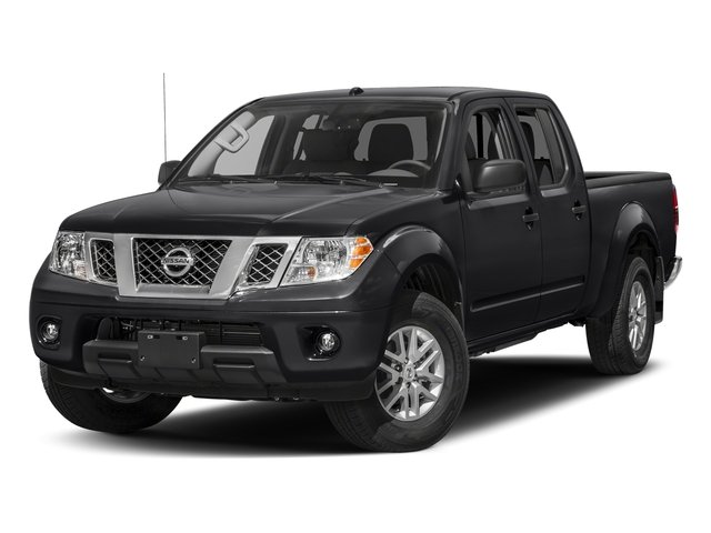 Magnetic Black 2017 Nissan Frontier Pictures Frontier 2017.5 Crew Cab 4x4 SV V6 Auto photos front view