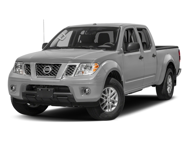 Brilliant Silver 2017 Nissan Frontier Pictures Frontier 2017.5 Crew Cab 4x4 SV V6 Auto photos front view