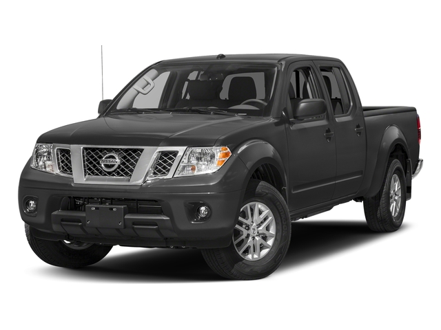 Gun Metallic 2017 Nissan Frontier Pictures Frontier 2017.5 Crew Cab 4x4 SV V6 Auto photos front view