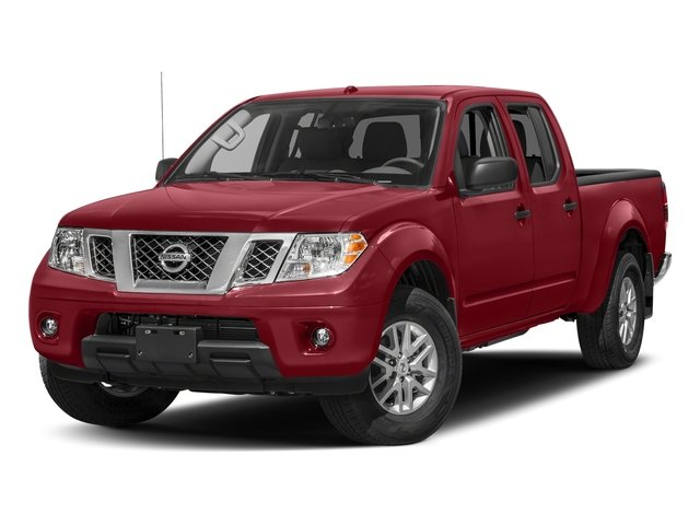 Cayenne Red 2017 Nissan Frontier Pictures Frontier 2017.5 Crew Cab 4x4 SV V6 Auto photos front view