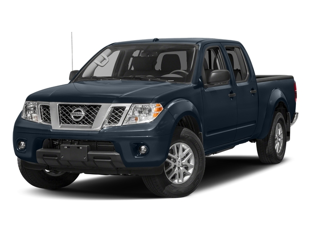 Arctic Blue Metallic 2017 Nissan Frontier Pictures Frontier 2017.5 Crew Cab 4x4 SV V6 Auto photos front view