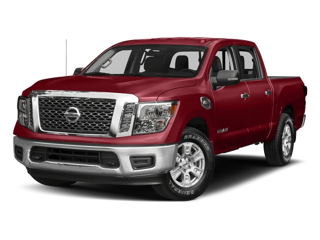 Cayenne Red 2017 Nissan Titan Pictures Titan Crew Cab SV 2WD photos front view