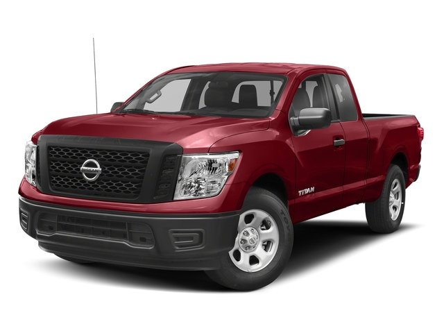 Cayenne Red 2017 Nissan Titan Pictures Titan King Cab S 4WD photos front view