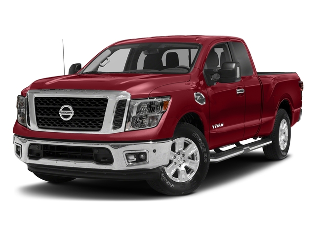 Cayenne Red 2017 Nissan Titan Pictures Titan King Cab SV 2WD photos front view