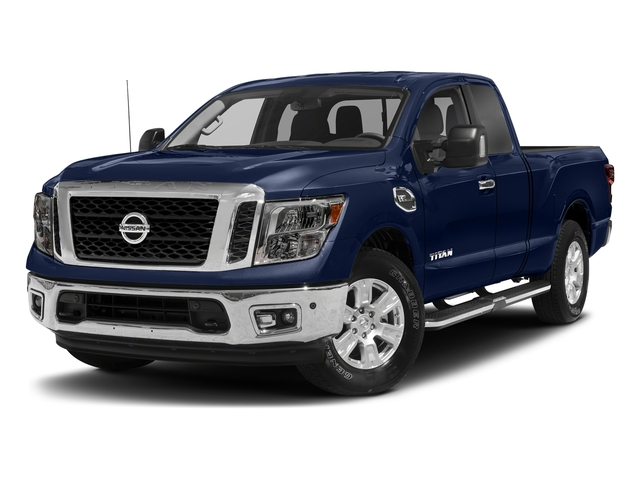 Deep Blue Pearl 2017 Nissan Titan Pictures Titan King Cab SV 2WD photos front view