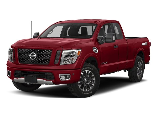 Cayenne Red 2017 Nissan Titan Pictures Titan King Cab PRO-4X 4WD photos front view