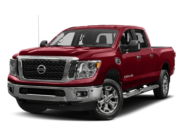 Cayenne Red 2017 Nissan Titan XD Pictures Titan XD Crew Cab SV 4WD photos front view