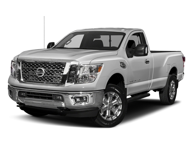 Brilliant Silver 2017 Nissan Titan XD Pictures Titan XD Regular Cab SV 2WD photos front view