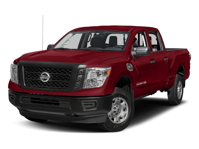 Cayenne Red 2017 Nissan Titan XD Pictures Titan XD Crew Cab S 4WD photos front view