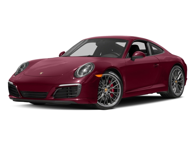 Carmine Red 2017 Porsche 911 Pictures 911 Carrera S Coupe photos front view