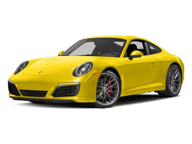 Racing Yellow 2017 Porsche 911 Pictures 911 Carrera S Coupe photos front view