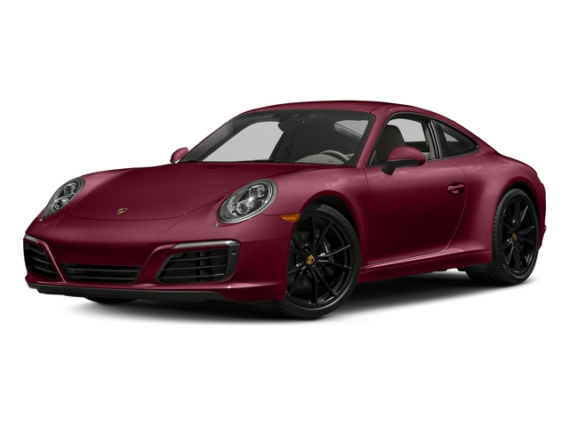 Carmine Red 2017 Porsche 911 Pictures 911 Carrera Coupe photos front view