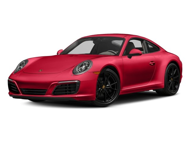 Guards Red 2017 Porsche 911 Pictures 911 Carrera Coupe photos front view