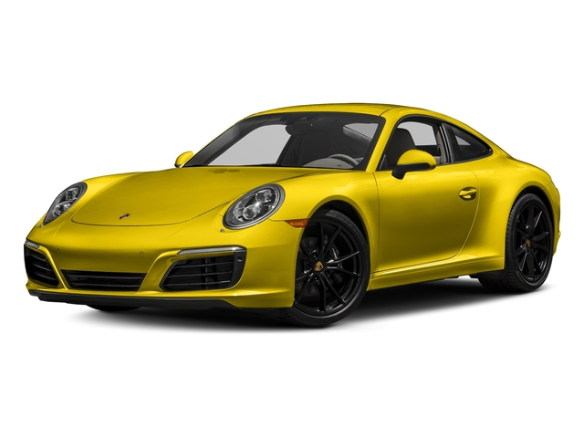 Racing Yellow 2017 Porsche 911 Pictures 911 Carrera Coupe photos front view
