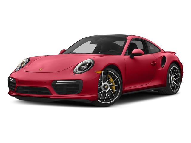 Carmine Red 2017 Porsche 911 Pictures 911 Turbo S Coupe photos front view