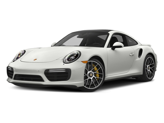 White 2017 Porsche 911 Pictures 911 Turbo S Coupe photos front view