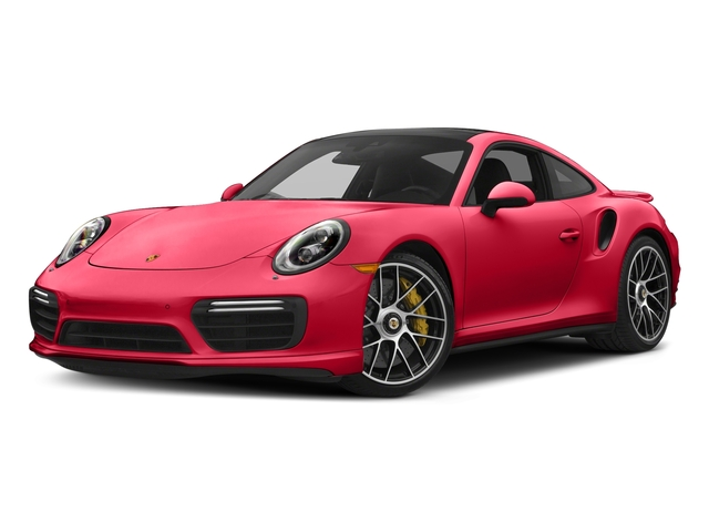 Guards Red 2017 Porsche 911 Pictures 911 Turbo S Coupe photos front view