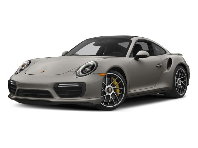 Agate Grey Metallic 2017 Porsche 911 Pictures 911 Turbo S Coupe photos front view