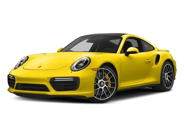 Racing Yellow 2017 Porsche 911 Pictures 911 Turbo S Coupe photos front view