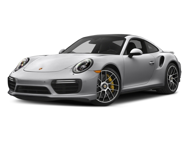 GT Silver Metallic 2017 Porsche 911 Pictures 911 Turbo S Coupe photos front view