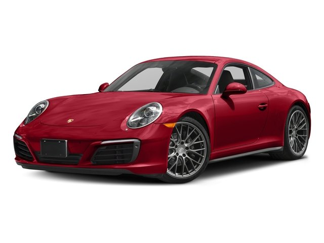 Carmine Red 2017 Porsche 911 Pictures 911 Carrera 4 Coupe photos front view