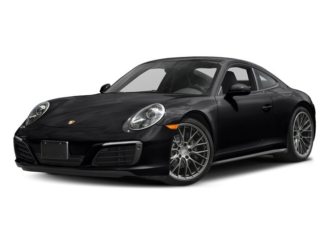 Black 2017 Porsche 911 Pictures 911 Carrera 4 Coupe photos front view