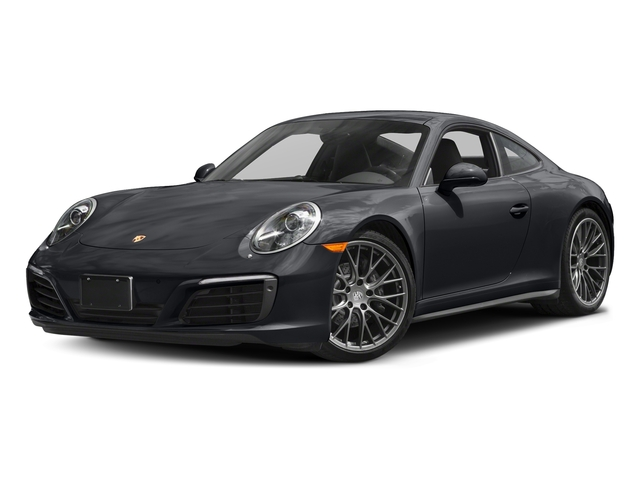 Graphite Blue Metallic 2017 Porsche 911 Pictures 911 Carrera 4 Coupe photos front view