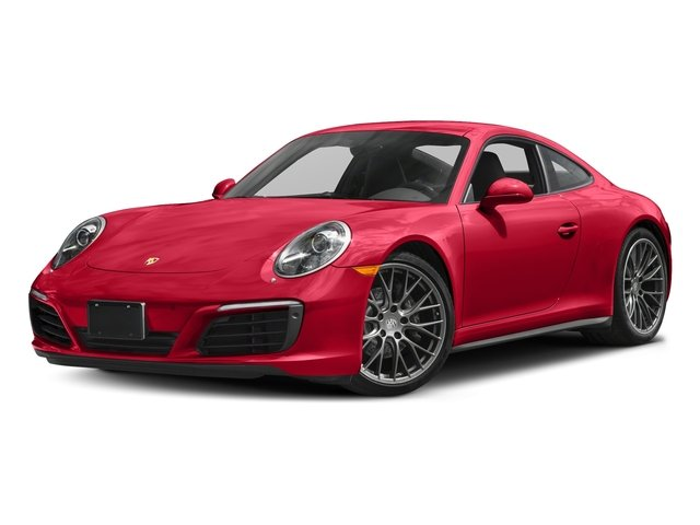 Guards Red 2017 Porsche 911 Pictures 911 Carrera 4 Coupe photos front view