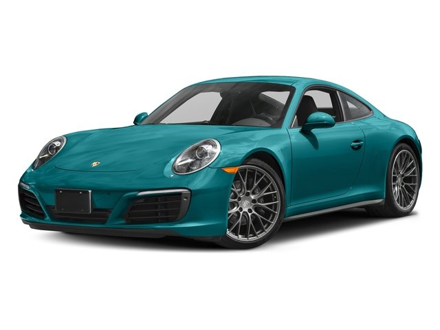Miami Blue 2017 Porsche 911 Pictures 911 Carrera 4 Coupe photos front view