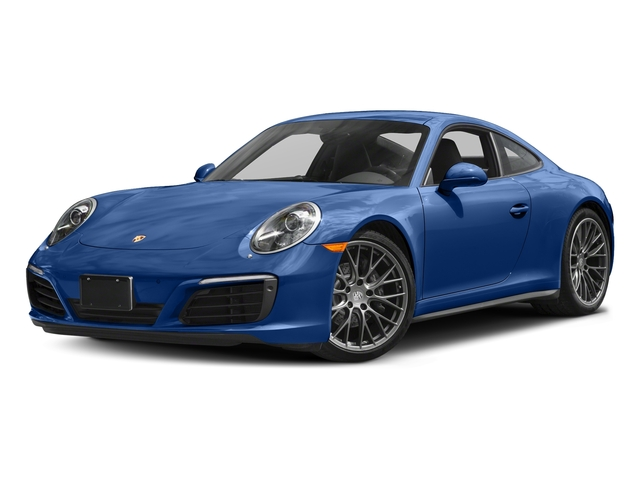 Sapphire Blue Metallic 2017 Porsche 911 Pictures 911 Carrera 4 Coupe photos front view