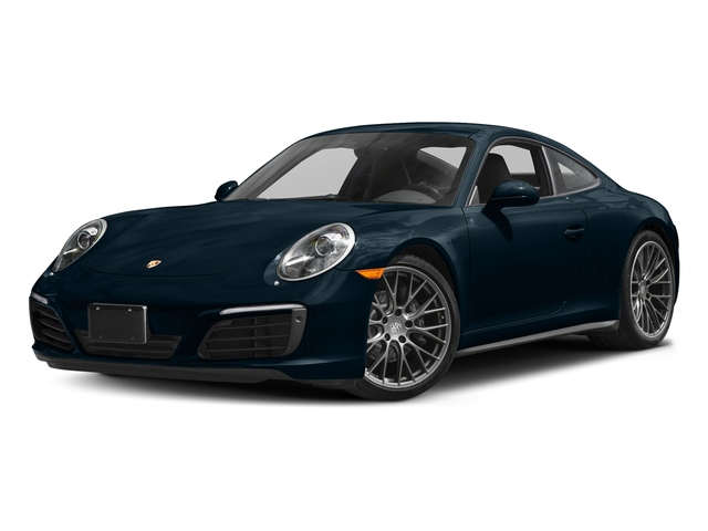 Night Blue Metallic 2017 Porsche 911 Pictures 911 Carrera 4 Coupe photos front view