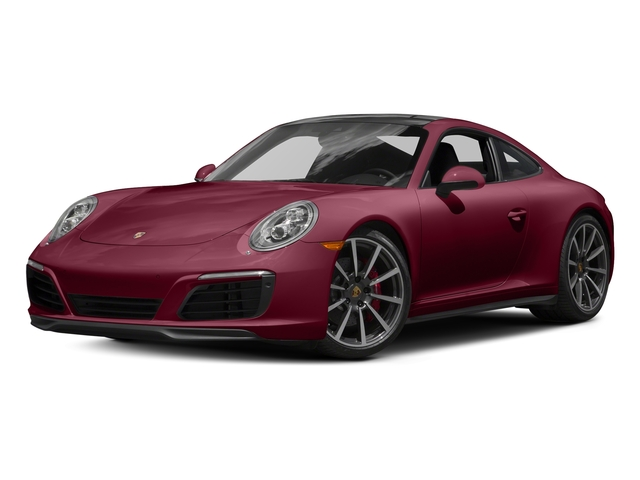 Carmine Red 2017 Porsche 911 Pictures 911 Carrera 4S Coupe photos front view