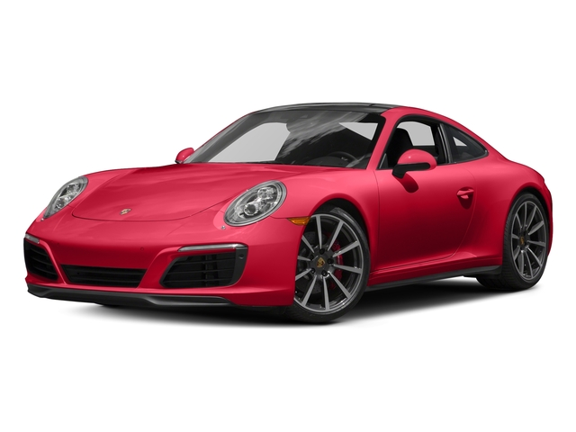 Guards Red 2017 Porsche 911 Pictures 911 Carrera 4S Coupe photos front view
