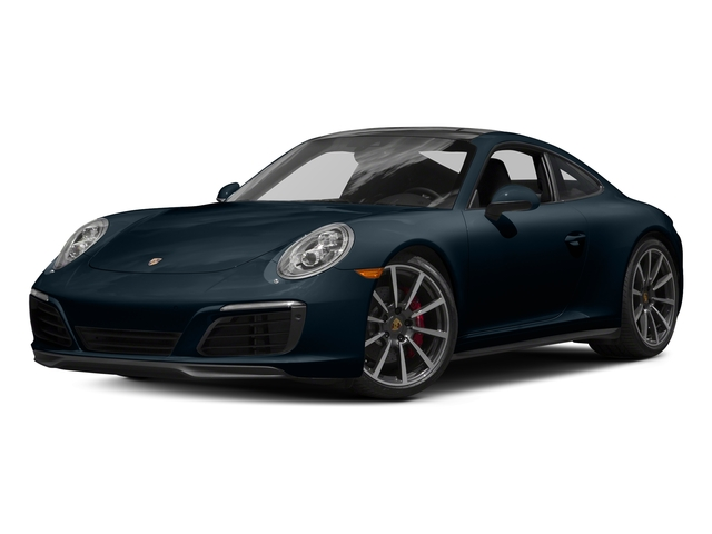 Night Blue Metallic 2017 Porsche 911 Pictures 911 Carrera 4S Coupe photos front view