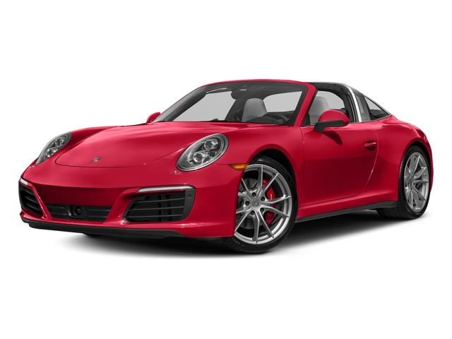 Guards Red 2017 Porsche 911 Pictures 911 Targa 4 GTS photos front view