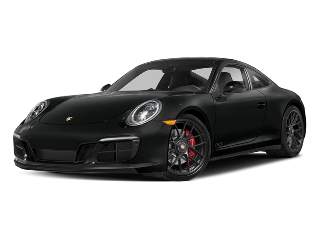 Jet Black Metallic 2017 Porsche 911 Pictures 911 Carrera GTS Coupe photos front view